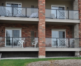 Duradek Glass Railing