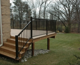HTR Duradek Railings